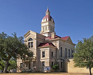 Bandera, Texas - Bandera County Courthouse