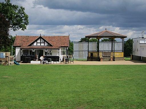 Bandstand by Cricket Ground, Sevenoaks (geograph 5480629)