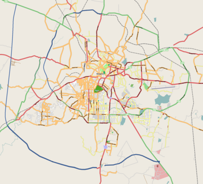 Location map India Bengaluru