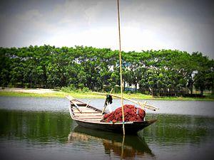Turag River - The river at Mirpur, Dhaka