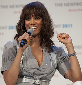 Tyra Banks - Banks at an interview at Harvard Business School, 2011