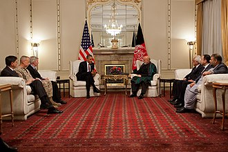 Arg (Kabul) - Image: Barack Obama and Hamid Karzai bilateral meeting in Kabul May 1, 2012