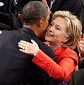 Barack Obama and Hillary Clinton hugging inside the House Chamber of the US Capitol in 2009 (cropped).jpg