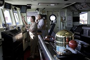 BRP Gregorio del Pilar (FF-15) - U.S. President Barack Obama aboard the BRP Gregorio del Pilar, November 17, 2015