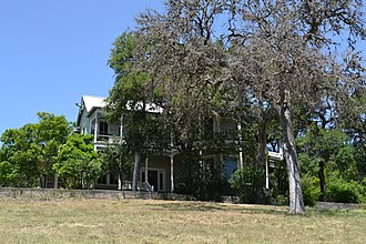 National Register of Historic Places listings in Hays County, Texas - Image: Barber House, San Marcos, Texas