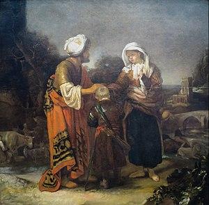 Hagar and Ishmael Taking Leave of Abraham