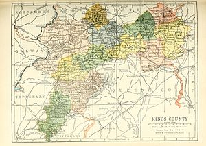 County Offaly - Baronies of Offaly