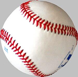 Basebal ball.