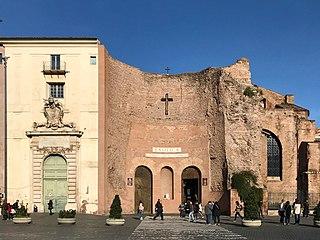 Santa Maria degli Angeli e dei Martiri church building in Rome, Italy