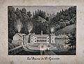 Baths of St. Gervais, Haute-Savoie, France; panoramic view. Wellcome V0014449.jpg