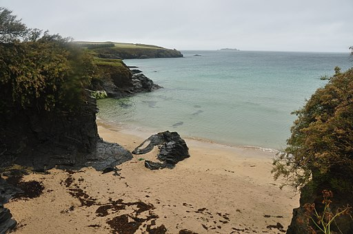 Beach at Harlyn Bay (5504)