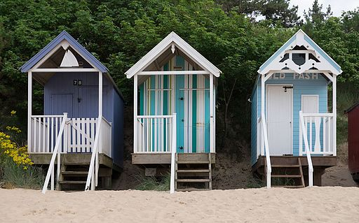 Beach huts at Wells-next-the-Sea