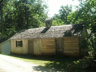 National Register of Historic Places listings in Amherst County, Virginia - Image: Bear Mountain Indian Mission School, full front