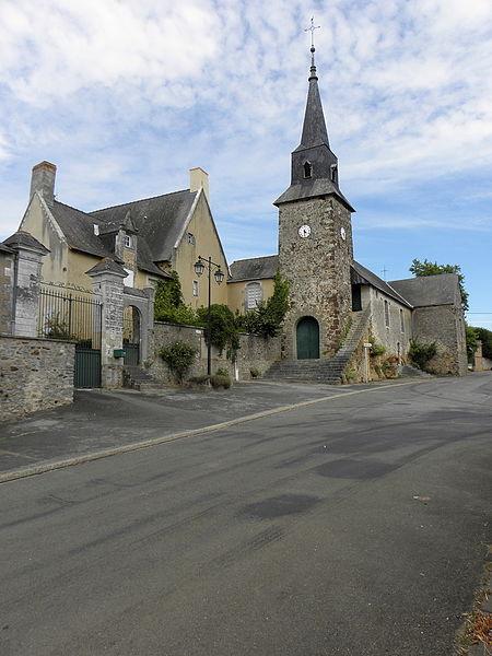 Église de Beaumont-Pied-de-Bœuf (53).