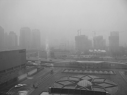 High air pollution day in Beijing