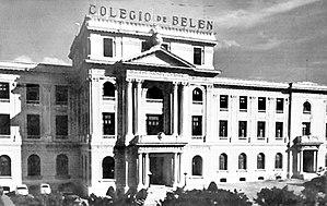 Instituto Técnico Militar - Image: Belen School front, pre 1950 Havana