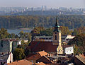 Belgrade, Zemun. View to St. Michael Chapel from Gardosh Hill.jpg