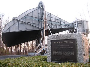Holmdel Township, New Jersey - Bell Labs Horn Antenna