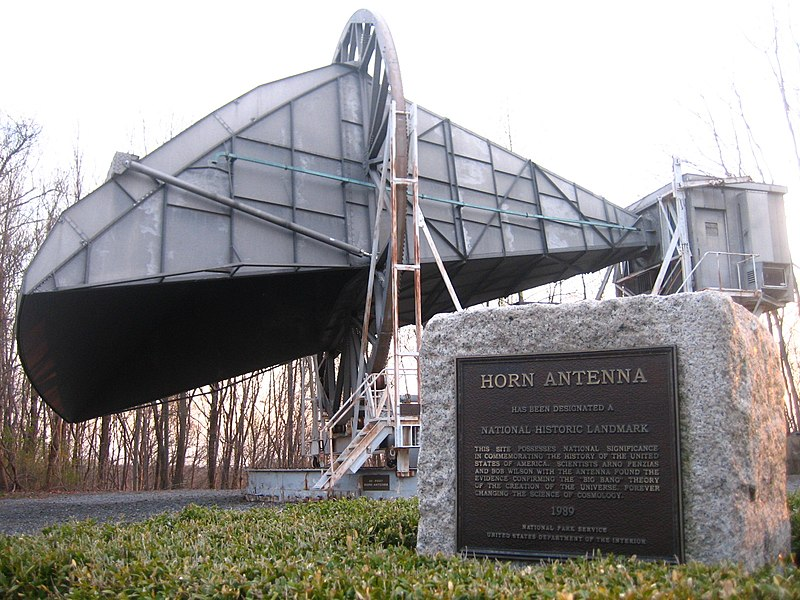 Bell Labs' Horn Antenna in Crawford Hill, NJ
