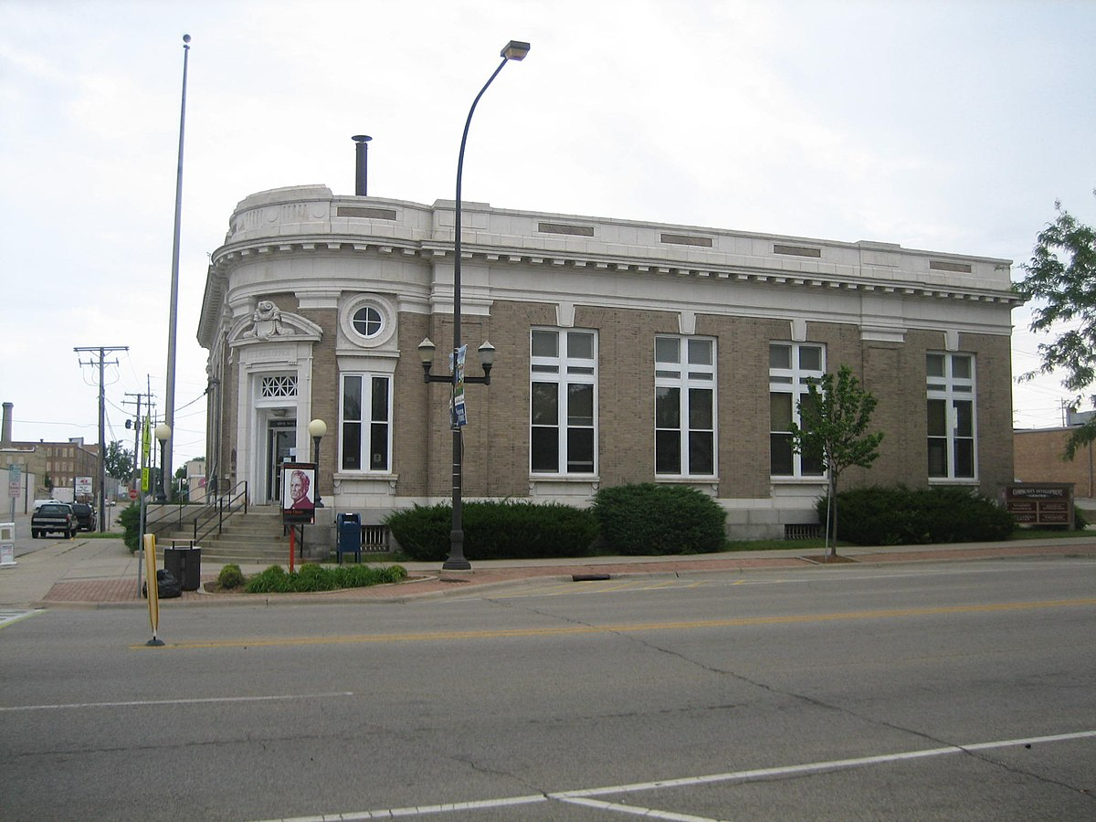 U.S. Post Office Belvidere – Wikipedia