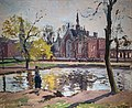 Bemberg Fondation Toulouse - Dulwich College, Londres (1871) - Camille Pissarro Inv.2149.jpg