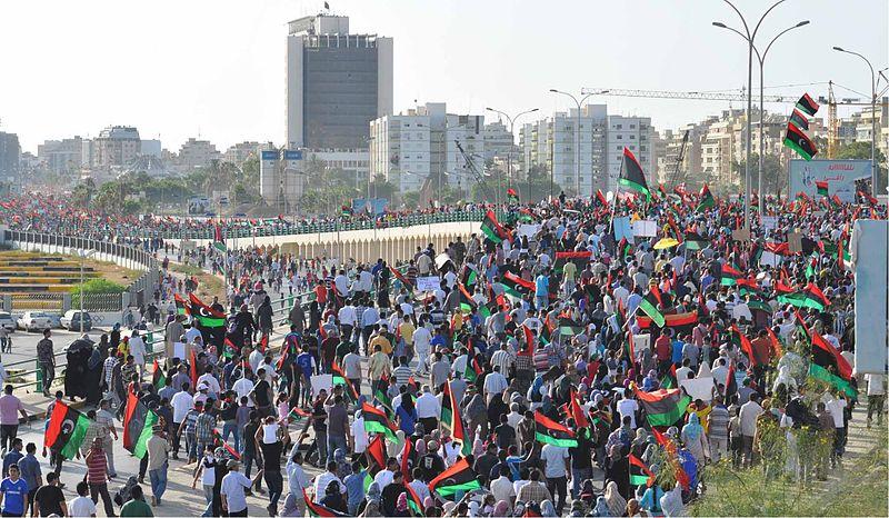 Benghazi Anti-Qaddafi protest.jpg