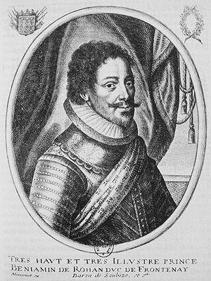 Recovery of Ré island - Benjamin de Rohan, duc de Soubise.