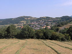 Berceto seen from the locality Il Poggio
