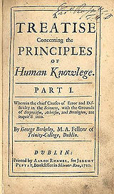 george berkeley and the external world The existence of an external world is regarded as an unresolvable  the idealist philosopher george berkeley argued that physical objects do not exist .