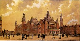 Berlage and Sanders design for a commodity exchange amsterdam 2.jpg