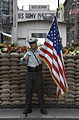 Berlin- An American soldier at Checkpoint Charlie - 2929.jpg