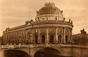 Bode Museum - The Bode Museum in 1904