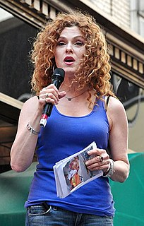 Bernadette Peters American actress & singer