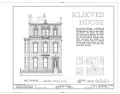 Bernard Klieves House, 2315 Chapline Street, Wheeling, Ohio County, WV HABS WVA,35-WHEEL,15- (sheet 1 of 1).png