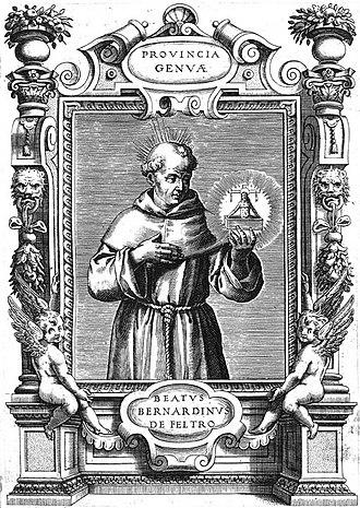 Bernardine of Feltre - Image: Bernardine of Feltre