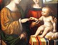 Bernardino luini, sposalizio mistico di s. caterina d'alessandria, 1520 ca. 03.JPG