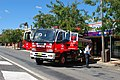 Berrigan NSW Police 150th Anniversary Fire Rescue NSW Truck 001.JPG