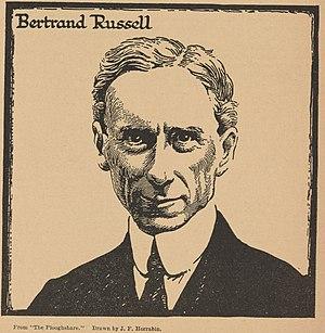 J. F. Horrabin - Portrait of Bertrand Russell by Horrabin.