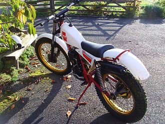 Beta (motorcycle manufacturer) - A 1983 Beta TR240, 200cc air-cooled engine, twinshock suspension