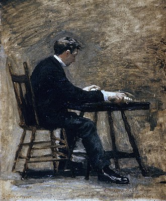 Between Rounds - Image: Between Rounds Study for the Timer, by Thomas Eakins