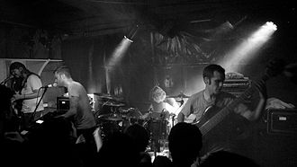 Between the Buried and Me - Image: Between the Buried and Me at Porto Rio