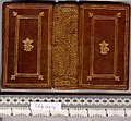 Bible.Latin Biblia ad vetustissima exemplaria castigata, etc. (5 pt.) - Upper cover (C64aa4).jpg
