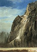 Bierstadt Albert Cathedral Rocks A Yosemite View.jpg