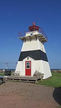 Big Tignish Lighthouse, Fisherman's Prov Park, Prince Edward Island (471210).jpg