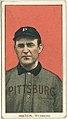 Bill Abstein, Pittsburgh Pirates, baseball card portrait LCCN2008676536.jpg