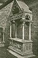 Bisceglie mausoleo di Riccardo Falcone allato alla chiesa di santa Margherita incisore anonimo 1898.jpg