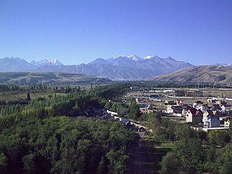 Chuy Region - Image: Bisjkek Gezicht Op Zuiden