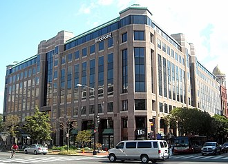 Blackboard Inc. - Blackboard Inc. previous headquarters at 650 Massachusetts Avenue NW, in Washington, D.C.