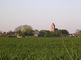 Blije - Blije seen from the west (2008)