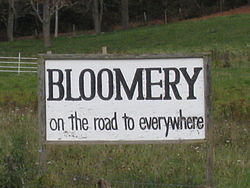 "The ""Bloomery Sign"""